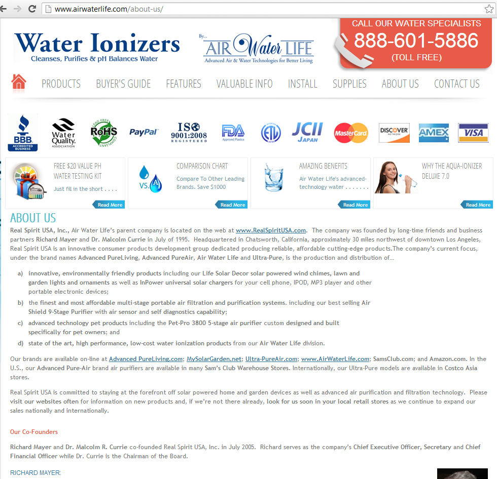 air water life company better business bureau review