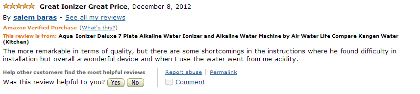 aqua ionizer deluce 7.0 water ionizer review